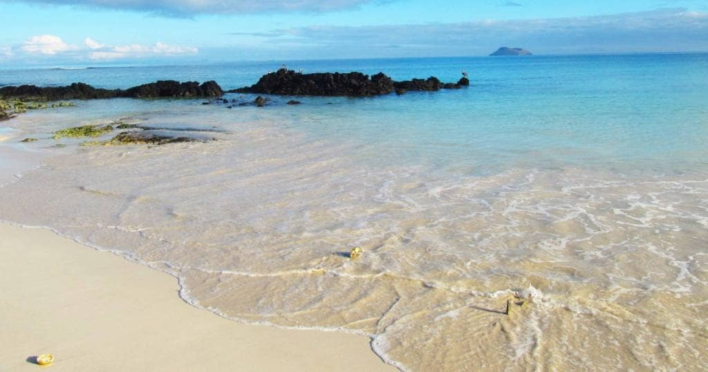 Bachas Strand auf Galapagos-Insel Santa Cruz