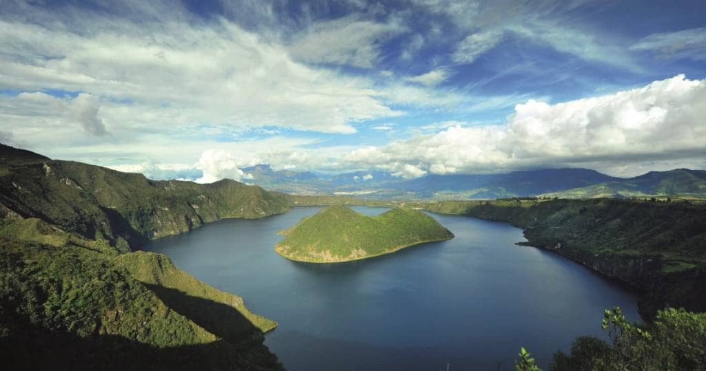 Galapagos PRO Cuicocha Ecuador Reisen
