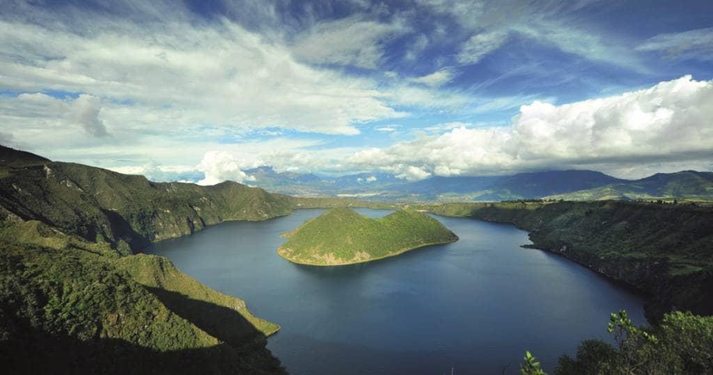 Der tolle Cuicocha Vulkansee - Ecuador Reisen