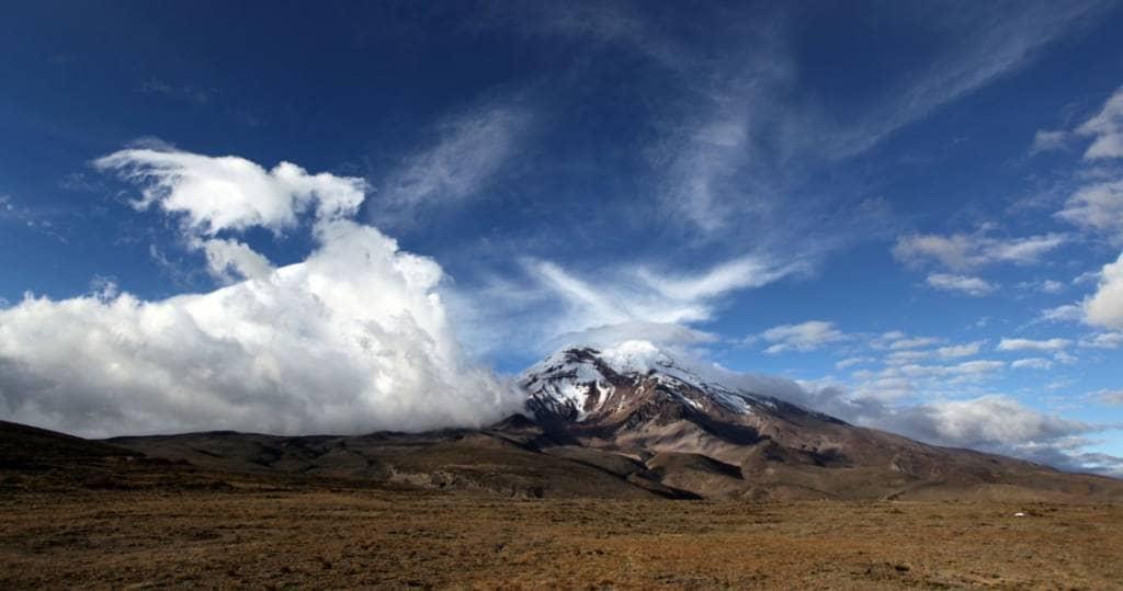 Galapagos PRO Ecuador Reisen Wanderungen zum Chrimborazo Vulkan