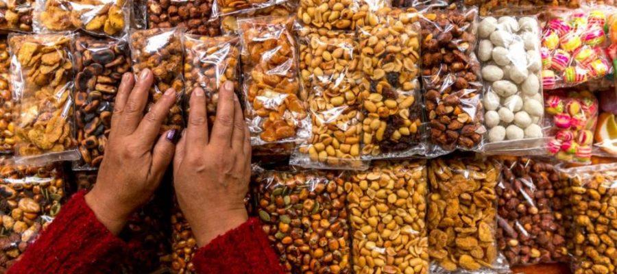 Ecuador Mais - viele Sorten gehören zu jeder Mahlzeit