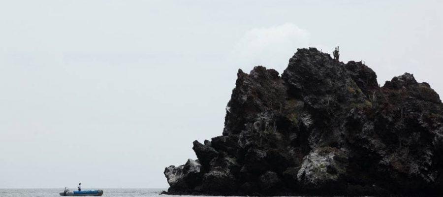Sehr beliebtes Ausflugsziel ist der Punta Cormorant auf der Galapagos-Insel Floreana