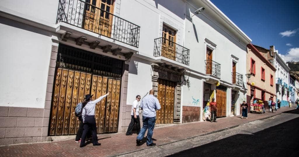 Galapagos PRO Quitos koloniale Altstadt