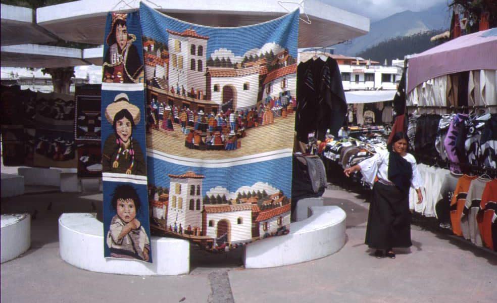 Kunsthandwerksmarkt in Otavalo