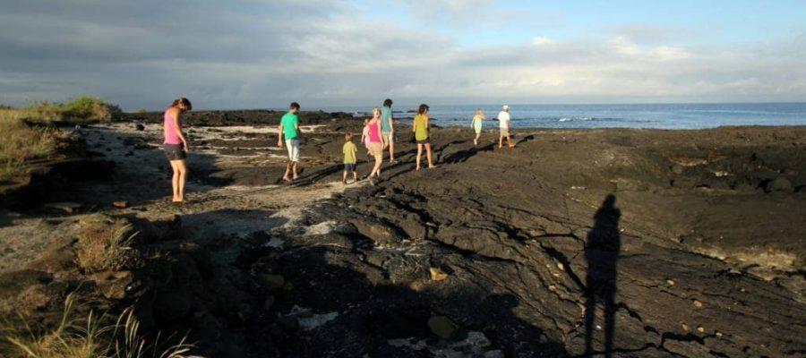 Ausflug zum Puerto Egas auf der Galapagos-Insel Santiago