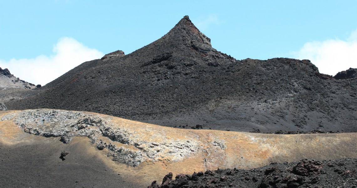 Vulkan Chico auf Isabela