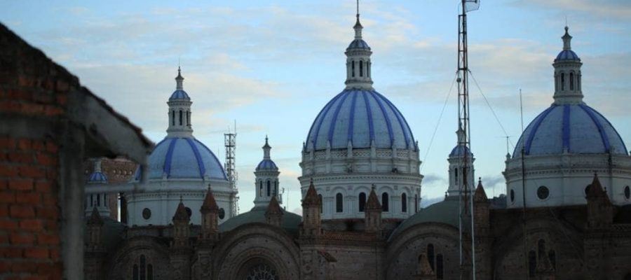 Cuenca - The beautiful city in southern Andes