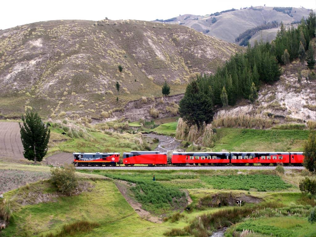 Entdecken Sie Ecuador mit dem Zug