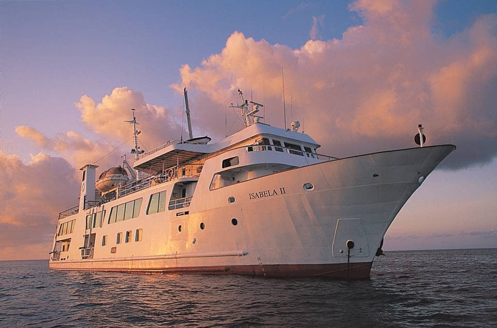 Mit allem Komfort die Galapagos-Inseln bereisen - An Bord der Isabela II
