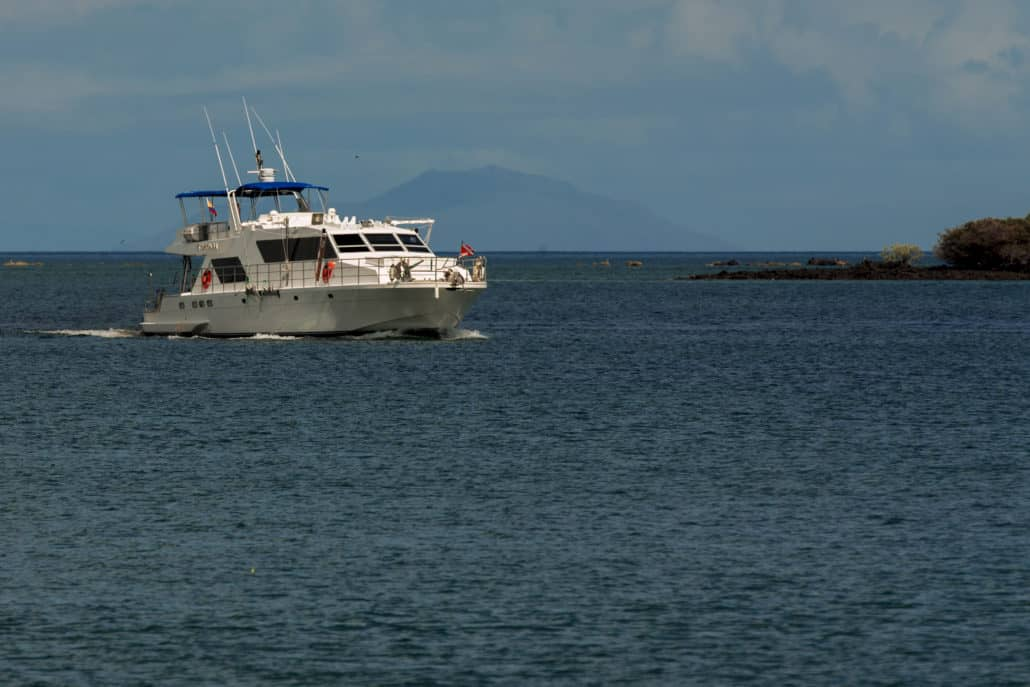 """Eine Galapagos Kreuzfahrt mit der """"Nortada"""""""