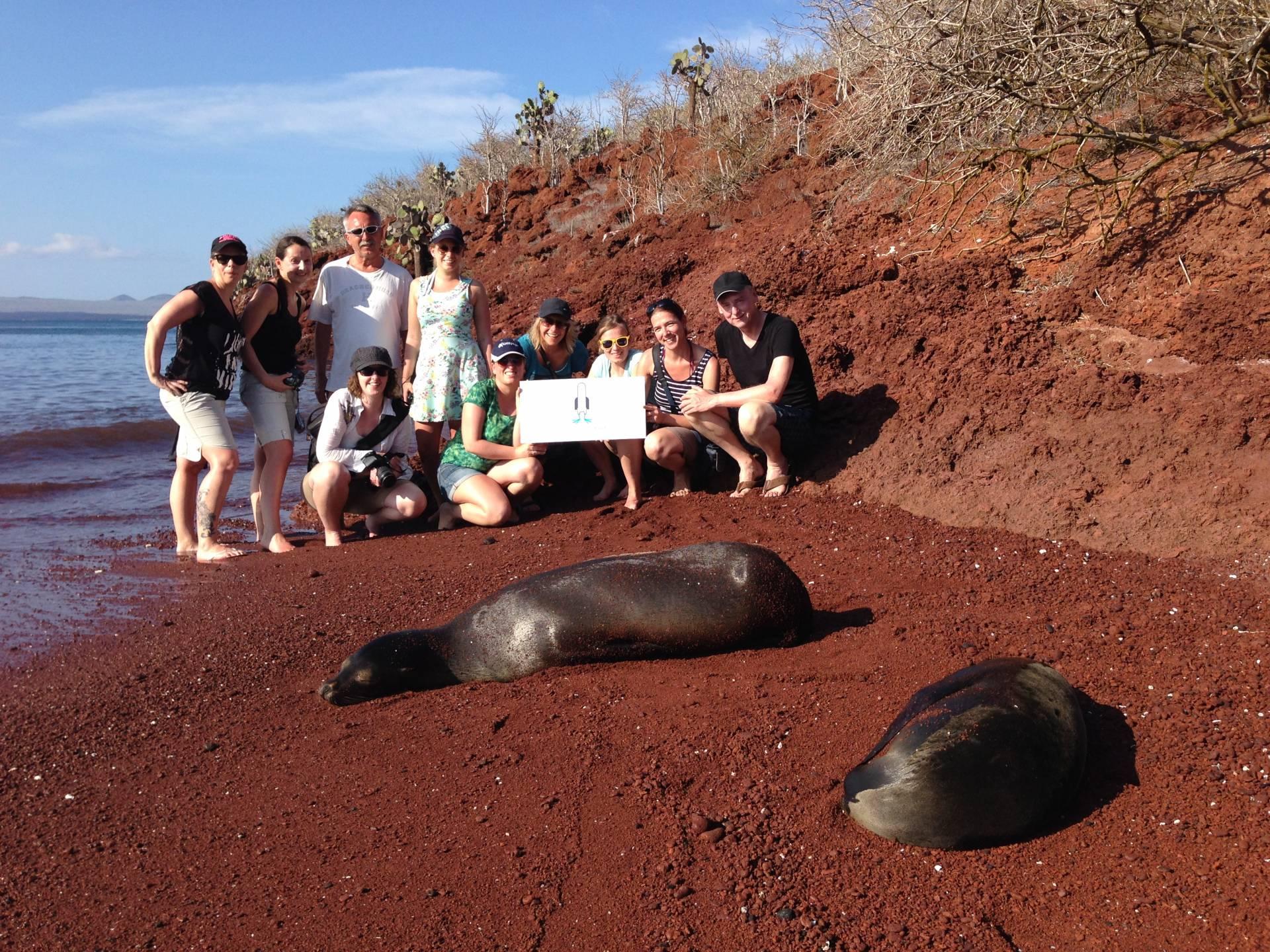 Ausflug auf die Insel Insel Rábida - Galapagos PRO und Partner Reisebüros