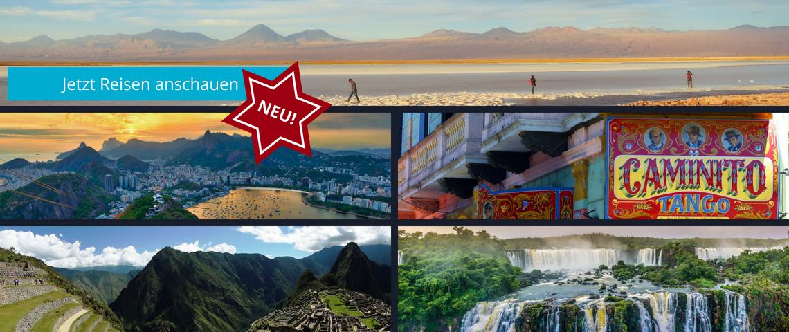 Reisen nach Südamerika & Galapagos