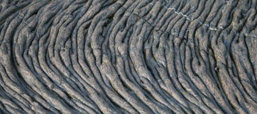 Tolle erkaltete Lavaformen auf der Galapagos-Insel Santiago