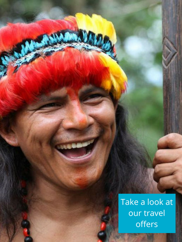 Meet the Shaman in the Amazon forest