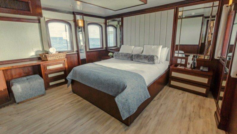 Galapagos-Kreuzfahrt Grace - die Grace Kelly Suite
