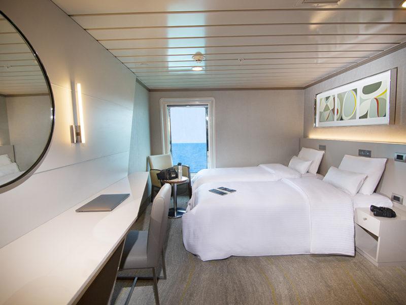 Galapagos cruise La Pinta twin cabin