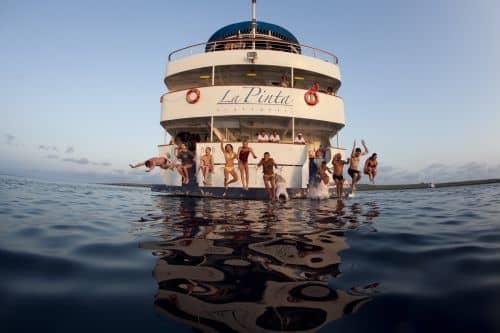 Galapagos PRO La Pinta Spaß an Bord