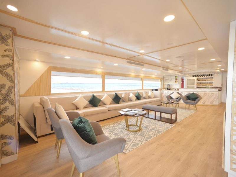 Galapagos cruise Seastar Journey Lounge