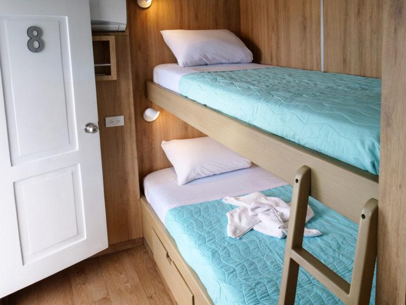 Galapagos Kreuzfahrt Aqua Upper Deck