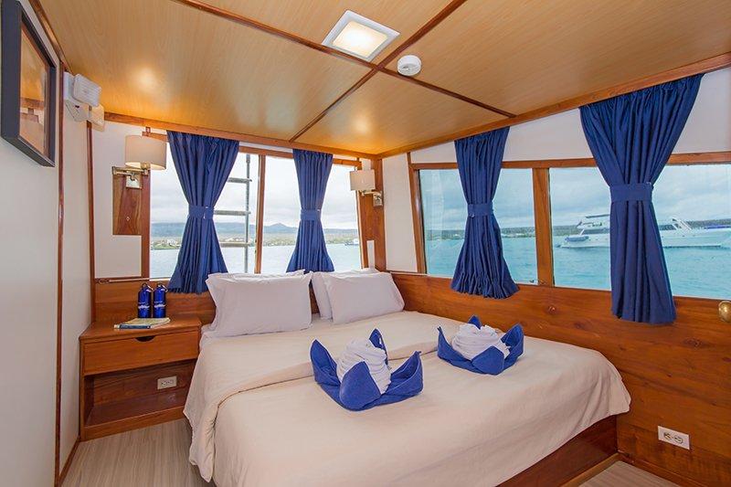 Galapagos-Kreuzfahrt auf der Beluga mit gemütlichen Kabinen