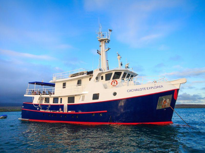 Galapagos-Kreuzfahrt Cachalote Explorer