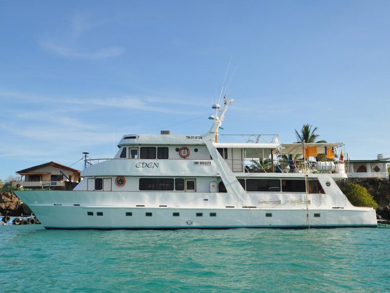 Galapagos-Kreuzfahrt an Bord der Motoryacht Eden