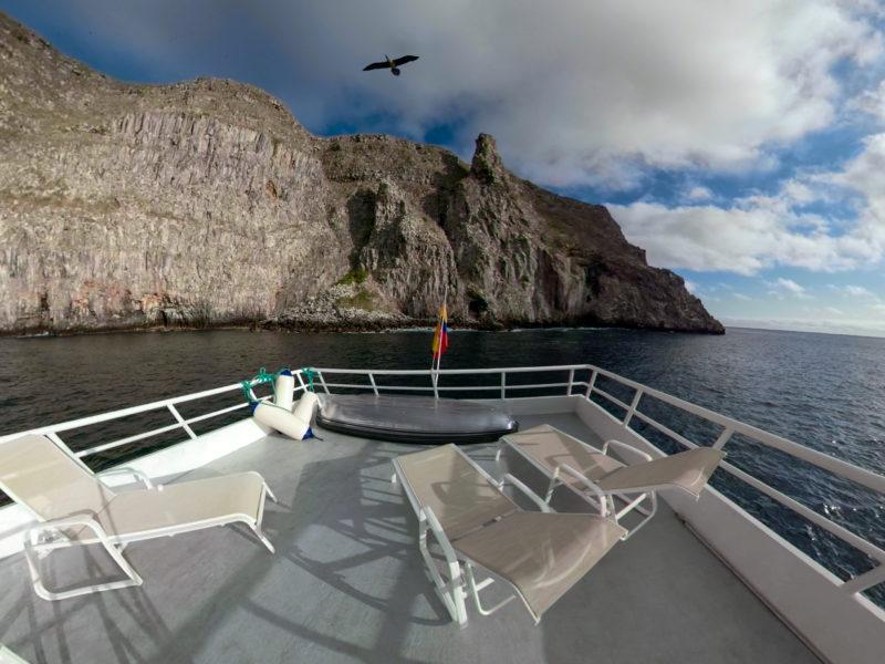 Galapagos Kreuzfahrt Aqua Sonnendeck
