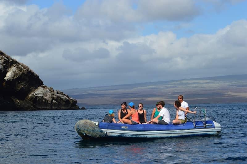 """Ausflüge zu den Schönheiten von Galapagos mit der """"Pingüino Explorer"""""""