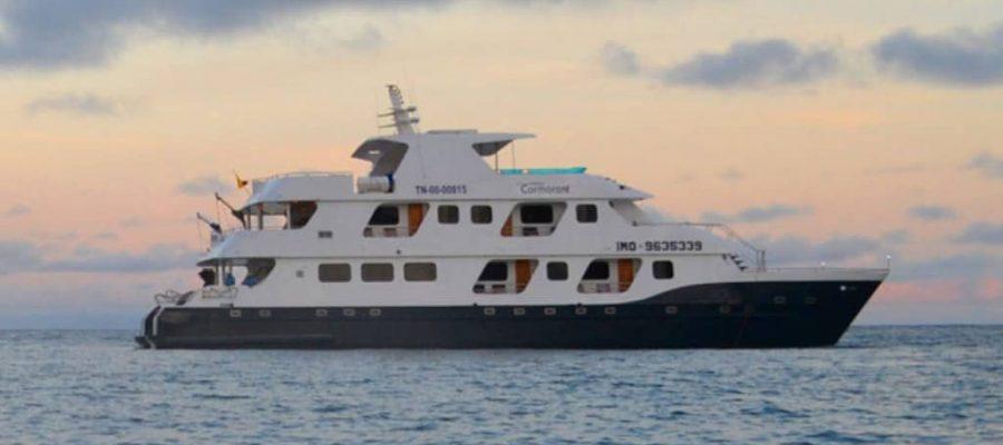 """Eine luxuriöse Galapagos Kreuzfahrt mit der """"Cormorant"""""""