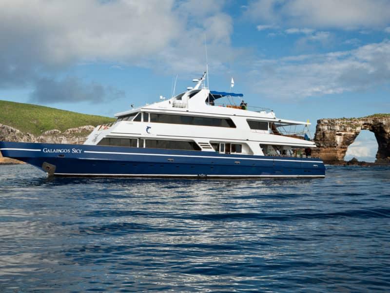 """Eine Galapagos Kreuzfahrt und Tauchsafari mit der """"Galapagos Sky"""" erleben"""