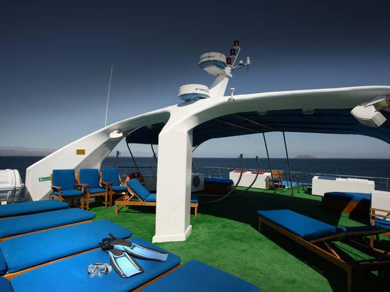 Galapagos PRO Galapagos Sky sun deck