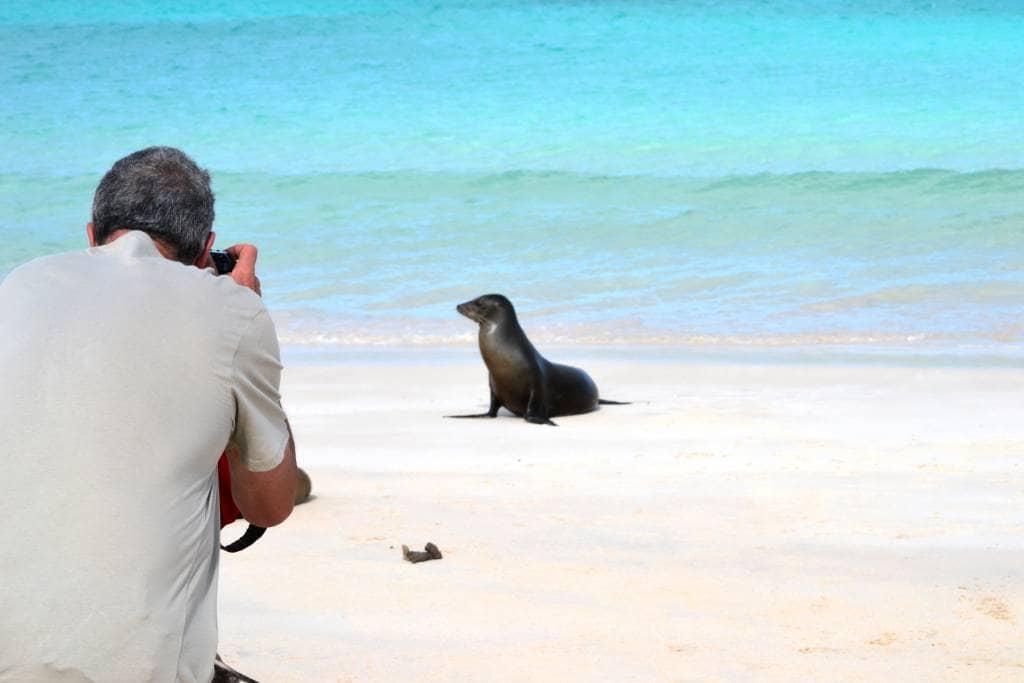 """Die """"Ocean Spray"""" lässt den Gast die Wunder von Galapagos hautnah erfahren - Ecuador & Galapagos Luxus-Reisen"""