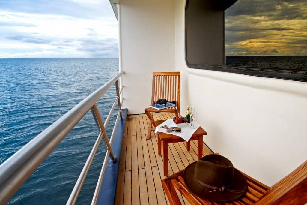 """Exklusive Privatsphäre mit spektakulären Ausblick auf der """"Ocean Spray"""" - Ecuador & Galapagos Luxus-Reisen"""