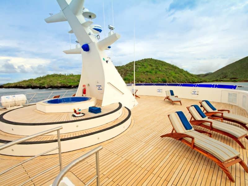 Galapagos PRO Ocean Spray sun deck