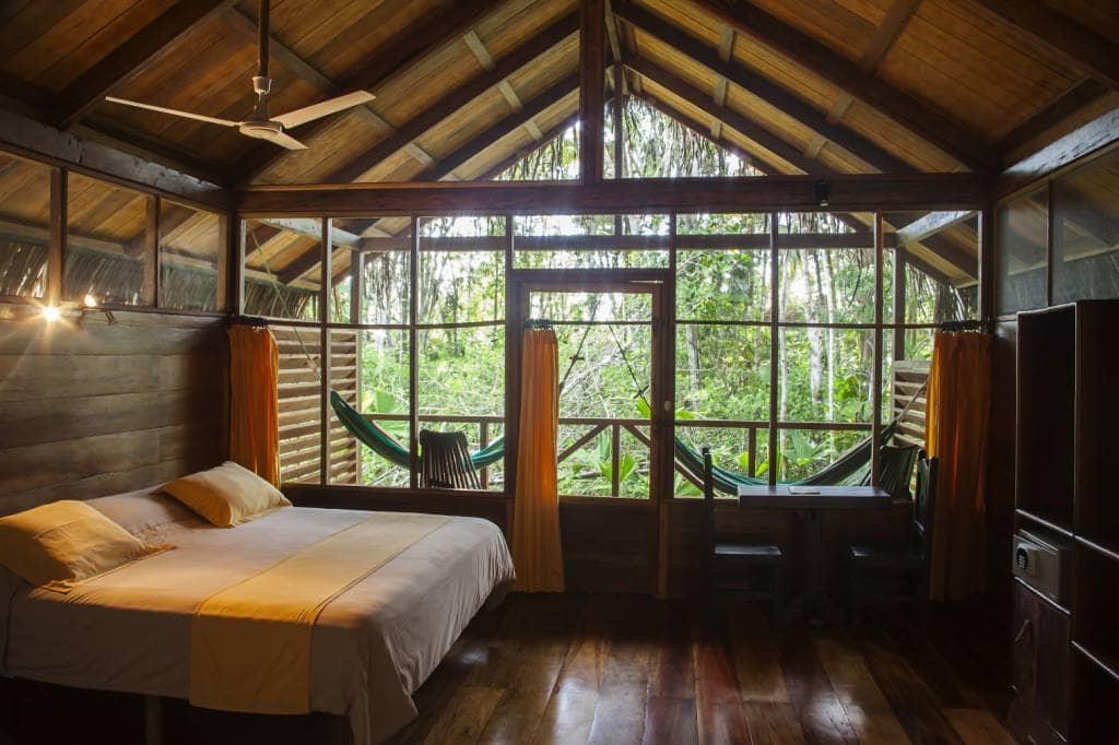 Doppelzimmer in der Sacha Lodge