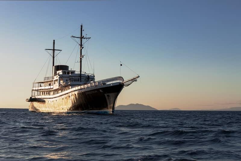 Galapagos PRO ship