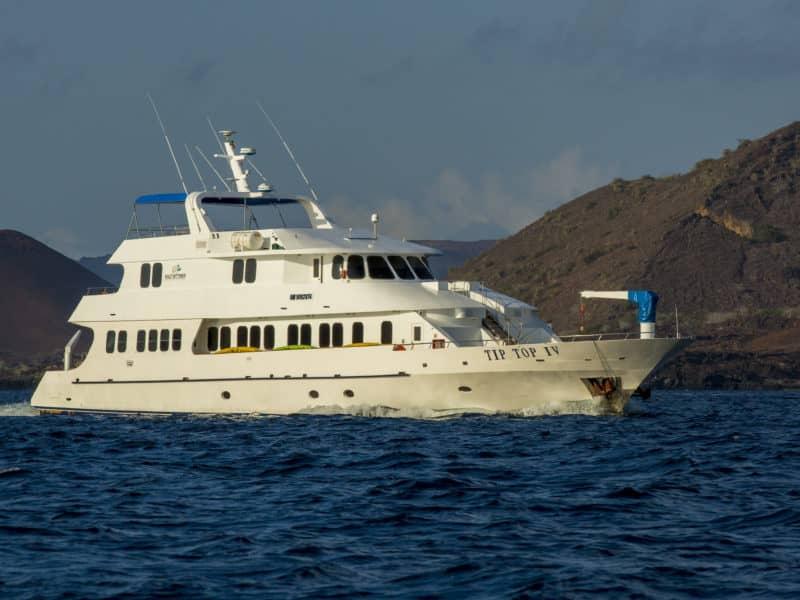 """Eine Galapagos Kreuzfahrt mit der """"Tip Top IV"""""""