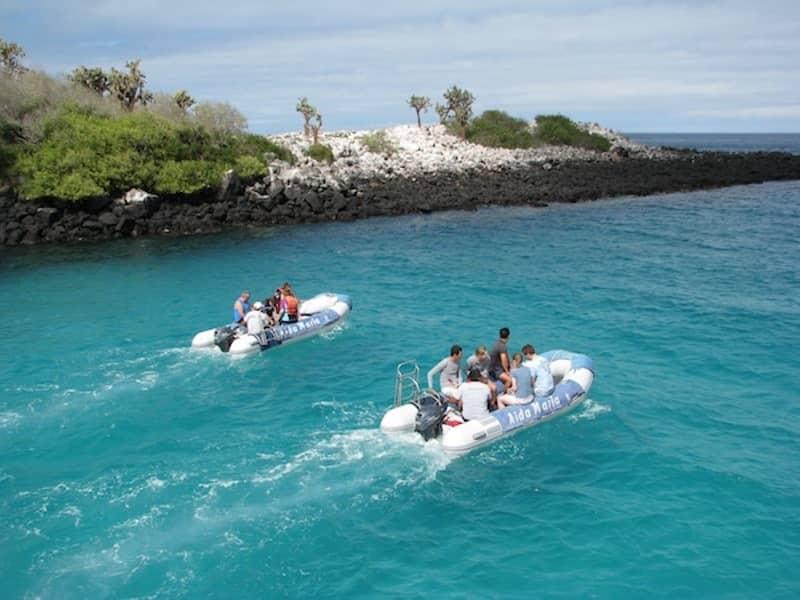 Galapagos-PRO-Touristenklasse-Yacht-Aida-Maria-Bootsausflug