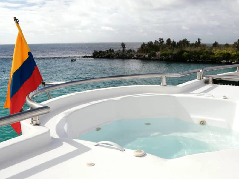 """Phänomenale Aussicht von der """"Treasure of Galapagos"""""""