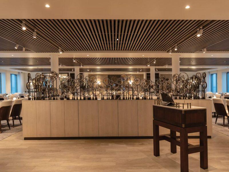Galapagos cruise Silver Origin Restaurant