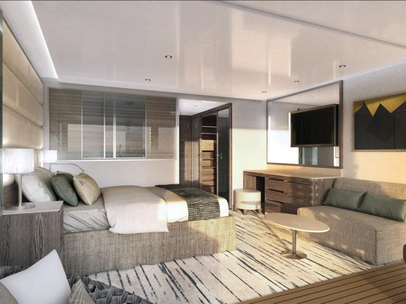 Silver Origin - Superior Veranda Suite