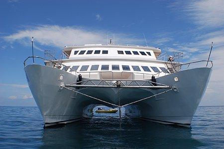Galapagos-Kreuzfahrt - Der Luxuskatamaran Anahi