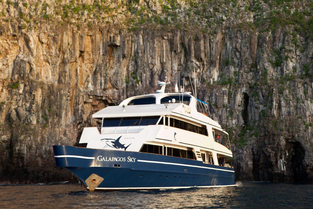Galapagos-Kreuzfahrt Galapagos Sky - Tauchschiffe