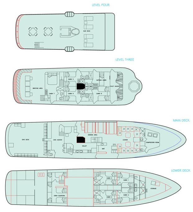 Deckplan Aggressor III