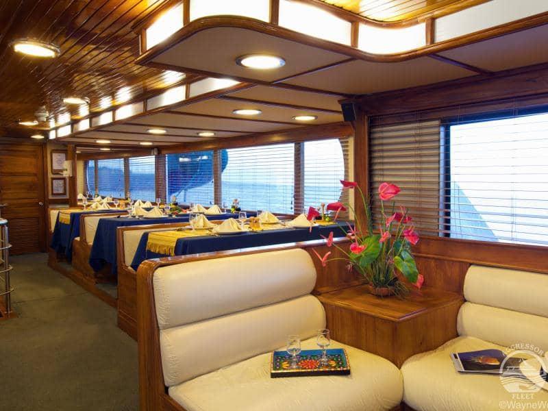 Galapagos PRO Aggressor III Lounge
