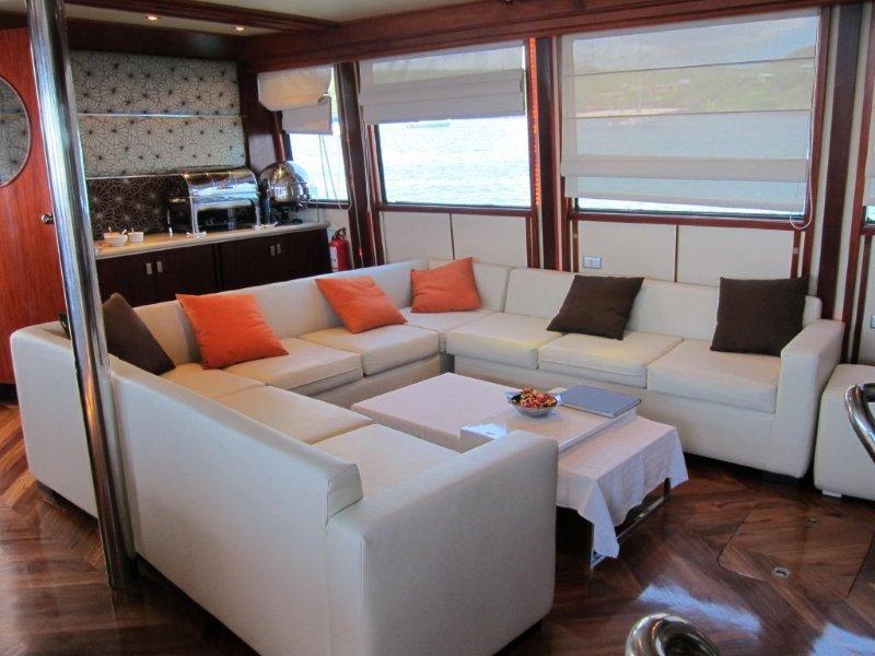 Galapagos Cruise Humboldt Explorer Lounge
