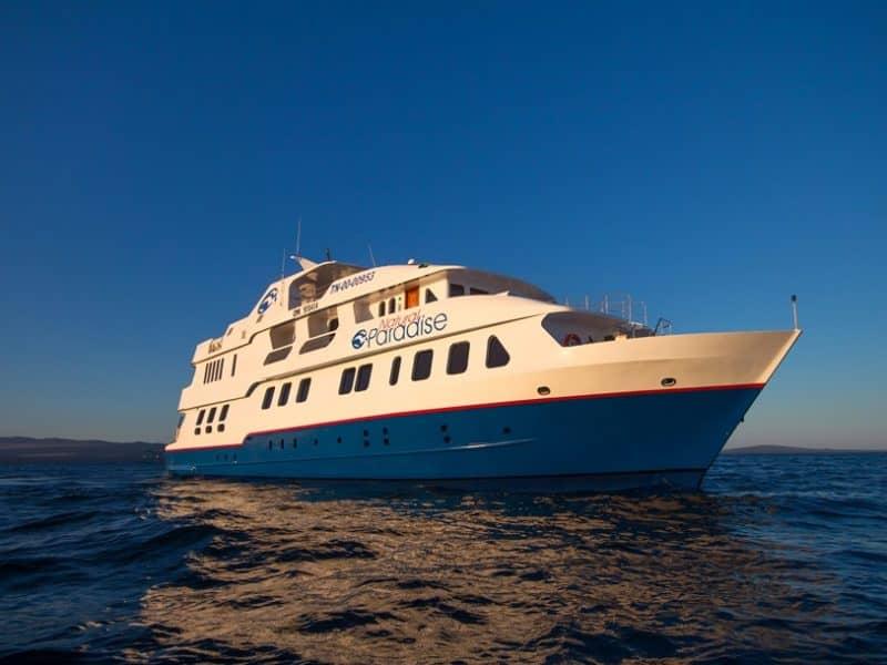 """Eine Galapagos Kreuzfahrt auf hochmodernen """"Natural Paradise"""""""