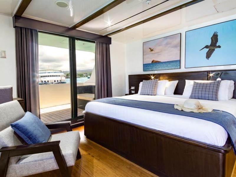 Galapagos cruise Natural Paradise cabin