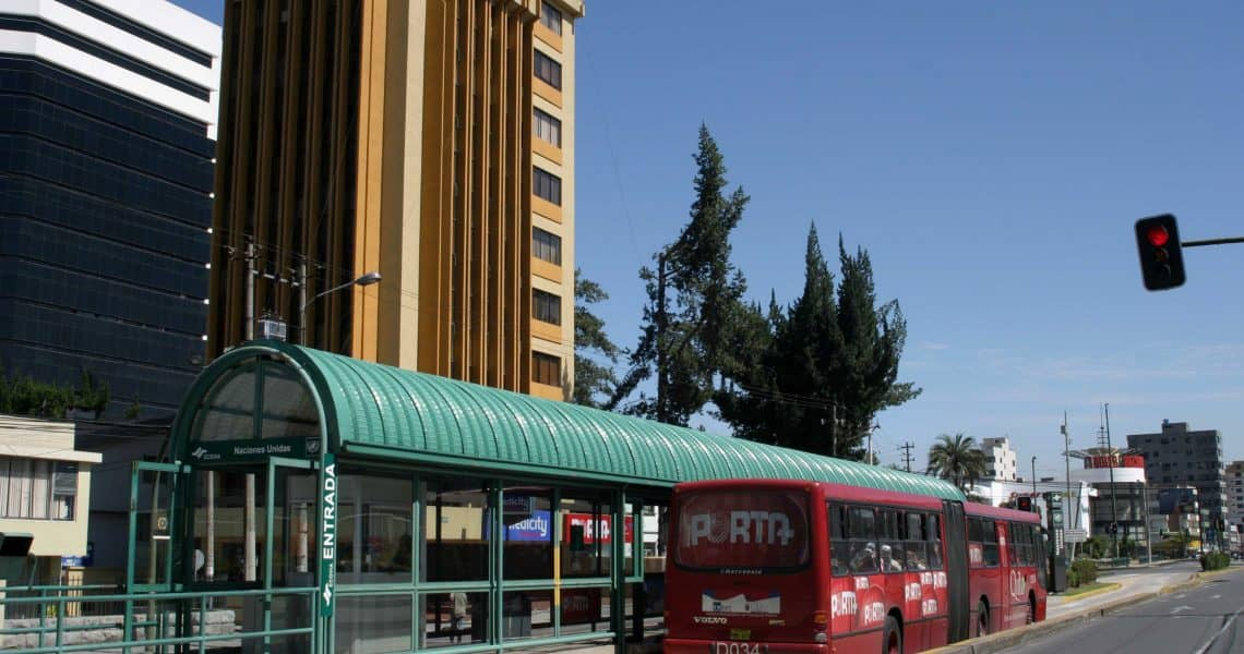 Per Stadt- oder Überlandbus unterwegs - Reisen in Ecuador und Galapagos-Inseln