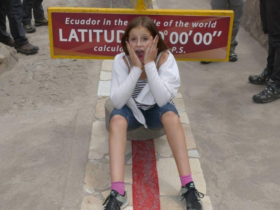 In jungen Jahren mal auf dem Äquator sitzen - Ecuador und Galapagos-Inseln mit Kindern